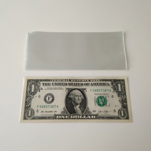 Deluxe Valutahylsning Bill Paper Note Money Sleeves