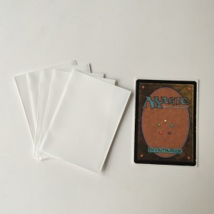White Matt Deck Protectors Sleeves Standard Size MTG Pokemon